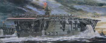 military,scale model ship,IJN Akagi Aircraft Carrier 1941 -- Plastic Model Aircraft Carrier Kit -- 1/350 Scale -- #40025