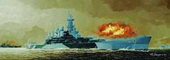 military,scale model ship,U.S.S. North Carolina BB-55 Battleship -- Plastic Model Military Ship Kit -- 1/350 Scale -- #05303