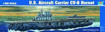 military,scale model ship,USS Aircraft Carrier Hornet CV8 -- Plastic Model Military Ship Kit -- 1/350 Scale -- #05601